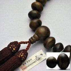 画像2: 仏壇供養に不可欠:京都数珠製造卸組合・男性用・シャム柿(暹羅柿)みかん珠・丸珠仕立