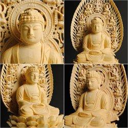 画像4: 仏像【総檜六角飛天光背:釈迦如来2.0寸】曹洞宗・禅宗・臨済宗 仏壇用御本尊 送料無料
